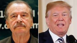 Vicente Fox, a la carga: ahora llama fraude a Donald