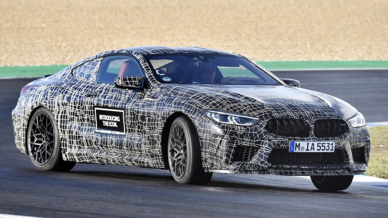 2020 BMW M8 coupe with over 600 hp shown testing | Autoblog