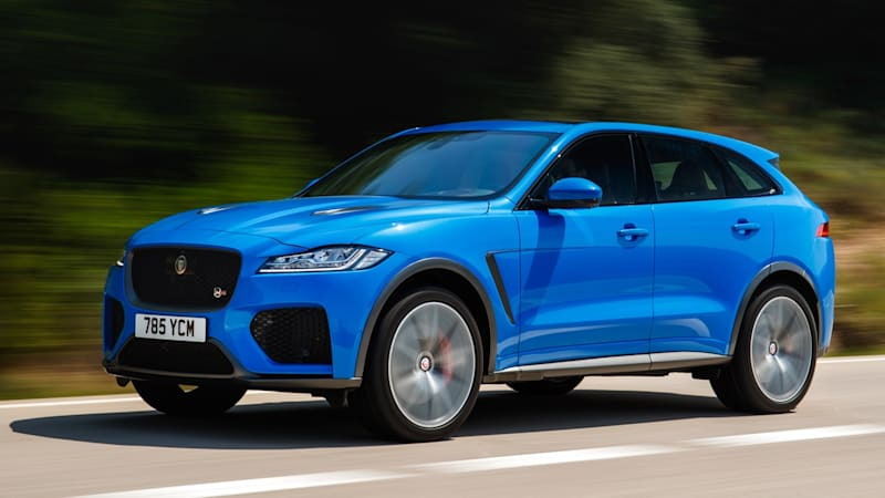 2020 Jaguar F-Pace SVR First Drive Review