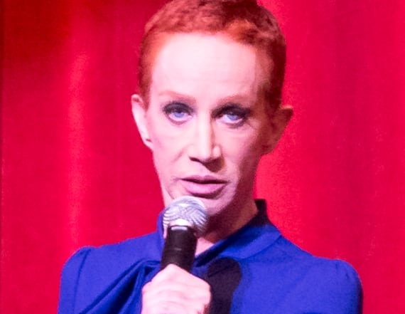 Kathy Griffin says she's blacklisted from Hollywood