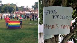 Como um panfleto homofóbico gerou uma reação de solidariedade e amor em
