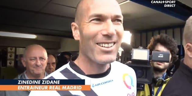 Zidane « comme un supporter » de l'OM devant sa télé mais prévient que « ça sera compliqué » face à l'Atlético ».
