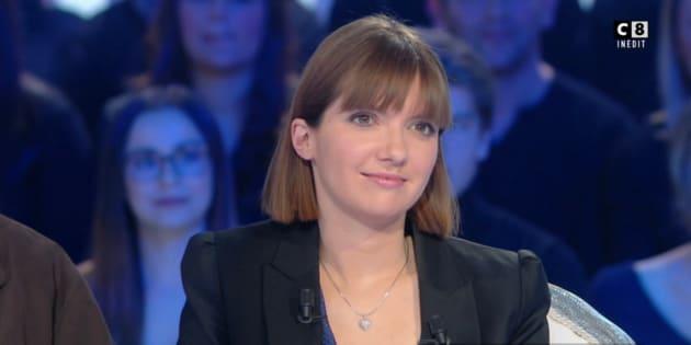 Aurore Bergé sur le plateau de Salut Les Terriens samedi 24 février.