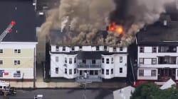 Explosiones de gas en EU dejan decenas de edificios
