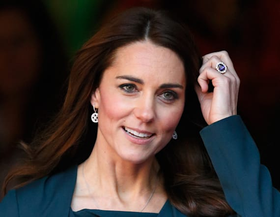 Kate's engagement ring is quite controversial
