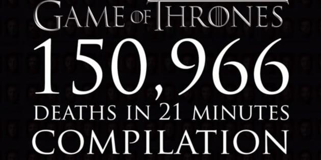 Toutes les morts de Game of Thrones en une vidéo