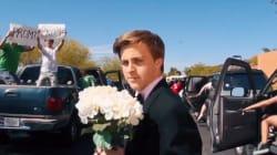 Un adolescente recrea 'La La Land' para pedirle a Emma Stone que sea su pareja en su