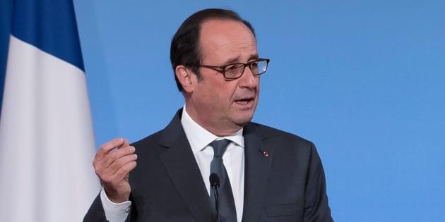 François Hollande à Paris, le 29 novembre 2016. REUTERS/Ian Langsdon/Pool