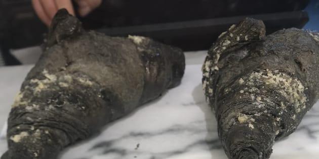 Ces croissants vegan au charbon actif ont fait bondir les puristes