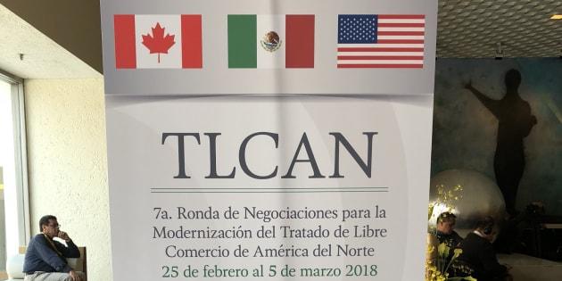 La séptima ronda de negociaciones del TLCAN, que inició el 26 de febrero en Ciudad de México, terminará el 5 de marzo.