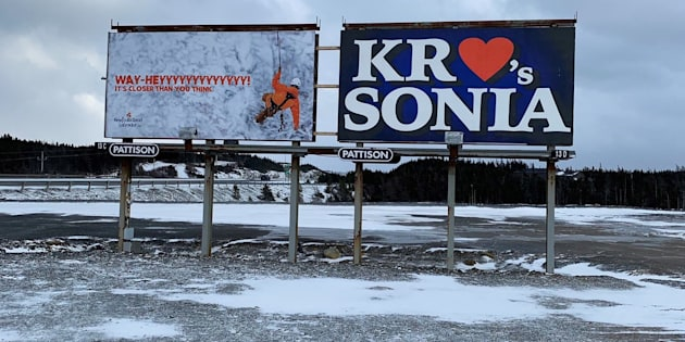 People are wondering about these mysterious billboards near Conception Bay, NL.