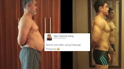 Aamir Khan's Fat-To-Fit Transformation For 'Dangal' Has Turned Into A Hilarious Internet