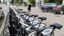 Scooters y bicicletas invaden las calles de Rusia durante el