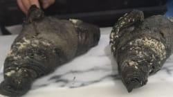 Ces croissants vegan au charbon actif (oui oui) ont fait hurler les
