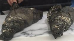 Ces croissants véganes au charbon actif font