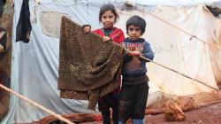 Bambini siriani annientati dalla guerra (U. De