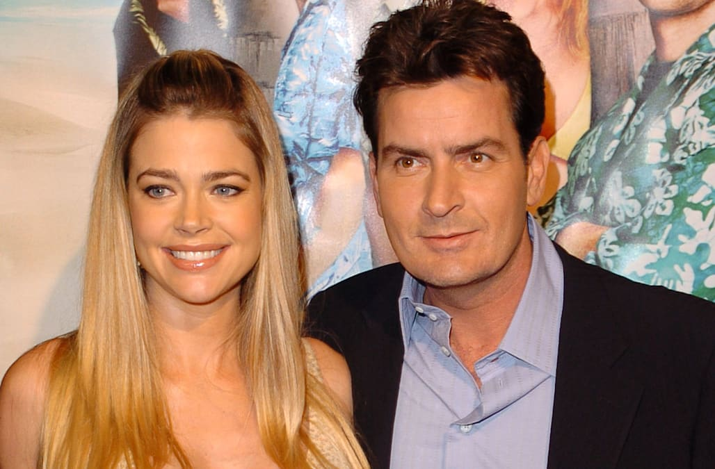 Denise Richards Says Charlie Sheen Brought A Prostitute To Her Thanksgiving