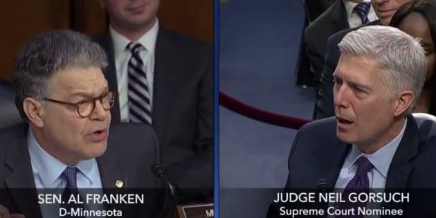 """L'affaire gênante du """"camionneur gelé"""" ressort à l'audition du juge choisit par Trump pour la Cour suprême"""
