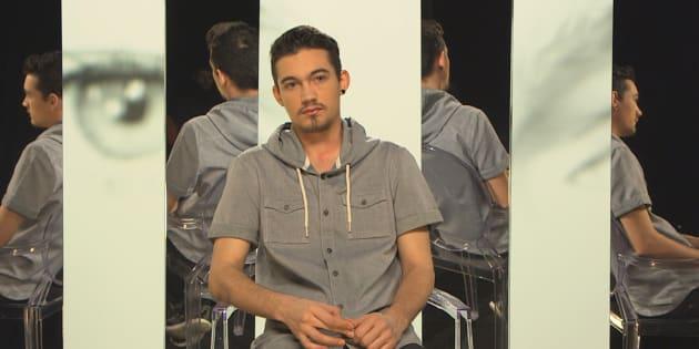 """Morgan, homme trans, témoigne pour le documentaire de France 2, """"Trans c'est mon genre"""""""