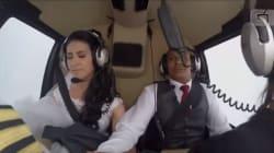 La sposa va al matrimonio in elicottero per fare una sorpresa al suo futuro marito. Muoiono in