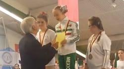 VIDEO: Bibi, la campeona mundial de gimnasia con 14 años y Síndrome de
