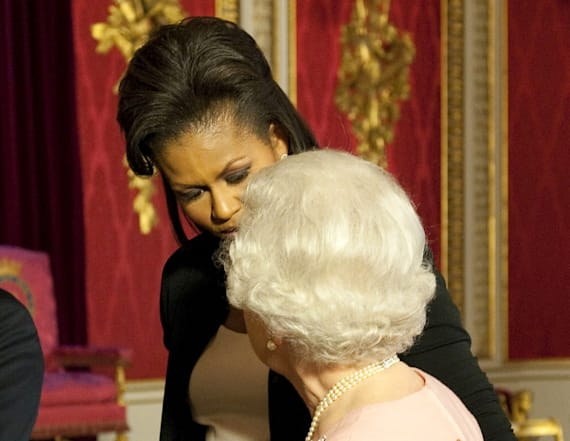 Michelle Obama and the queen bonded over sore feet