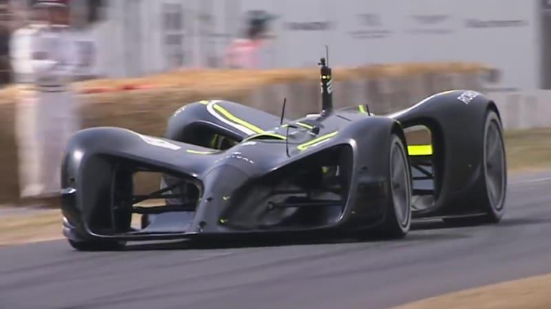 autoblog.com - Autoblog Staff - Roborace race car proves it's possible to go up Goodwood hill autonomously