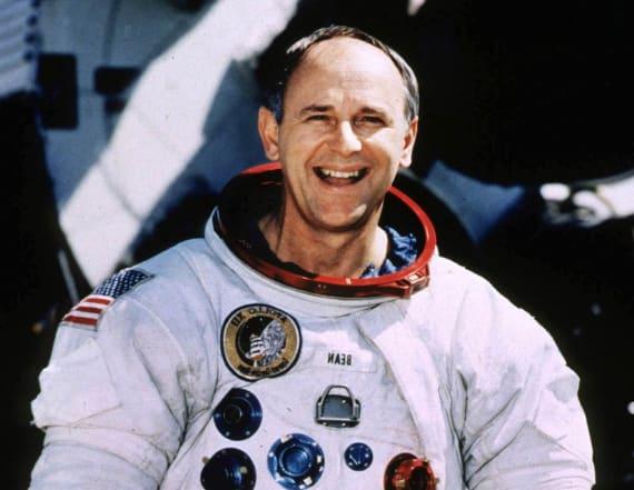 Alan Bean, moon-walking US astronaut dies in Houston