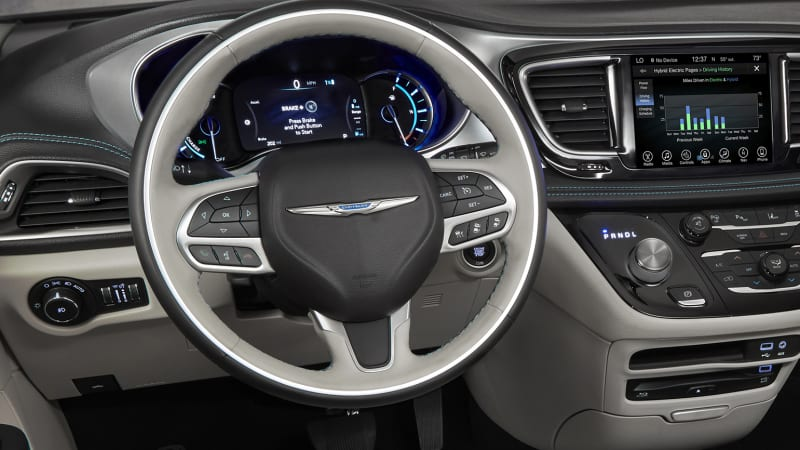 Our 2018 Chrysler Pacifica Being The Limited Trim Is A Pretty Plush Place In Which To Spend Some Time With Na Leather Seats Heating And Ventilation