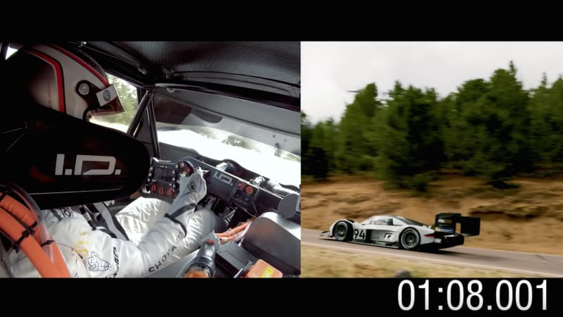 Volkswagen releases Pikes Peak onboard footage from I.D. R