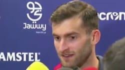 El tremendo error de este futbolista cuando un periodista de TV3 le pregunta por su
