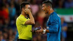 Suspenden cinco partidos a Cristiano Ronaldo por empujar a