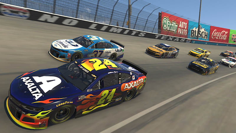 Virtual superstar Timmy Hill wins NASCAR live iRacing event