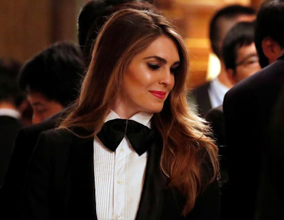 Hope Hicks' fashion could be a sign of one thing
