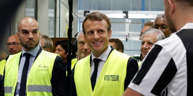 """La """"méthode Whirlpool"""" d'Emmanuel Macron, loin des caméras, plus de résultats."""