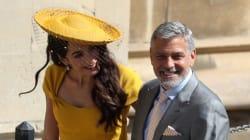 Amal sceglie il giallo per il royal wedding e incanta
