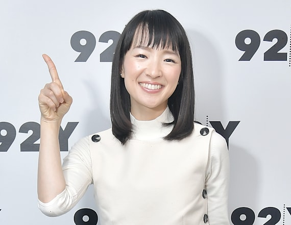 Marie Kondo's suggestion for messy living partners