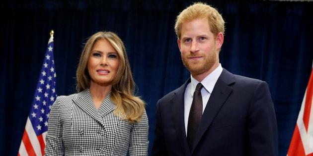 Le prince Harry et Melania Trump lancent les Invictus Games à Toronto