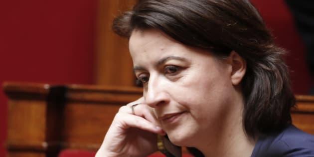 Cecile Duflot lors de questions au gouvernement à l'Assemblée nationale, en mars 2015. REUTERS/Charles Platiau