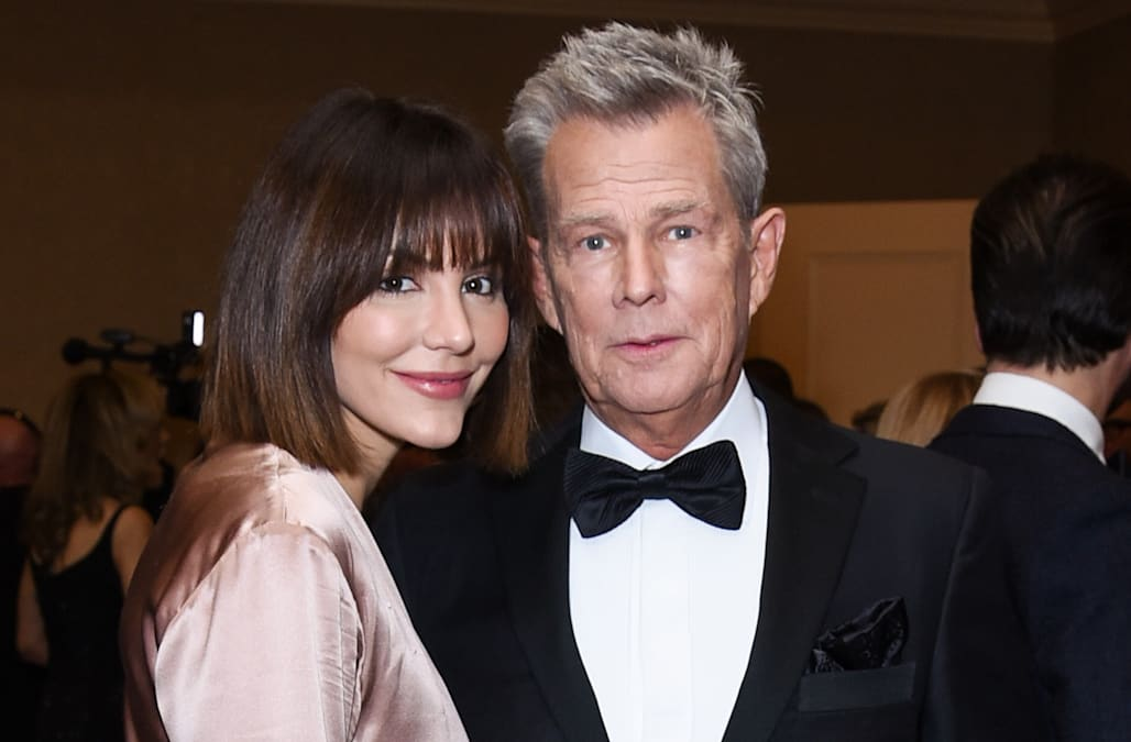 Katharine Mcphee Changes Last Name After David Foster Wedding Aol Entertainment