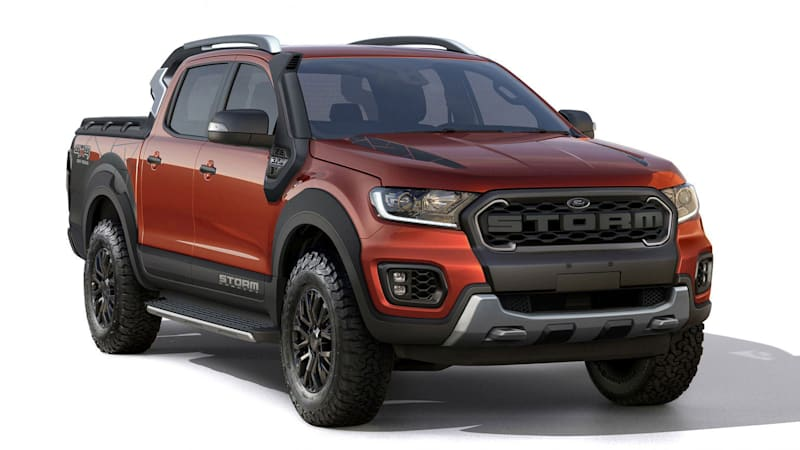 Rugged Looks With Less Underpinnings For This Ranger Concept