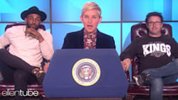 Ellen DeGeneres Trolls Trump With Spoof 'Love' State Of The