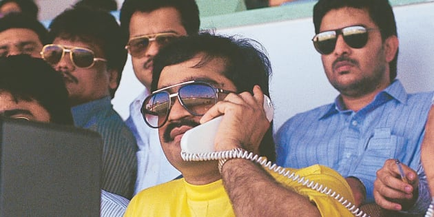 INDIA - OCTOBER 02:  Dawood Ibrahim, the mafia leader in Sharjah, United Arab Emirates ( mafia don )  (Photo by Bhawan Singh/The India Today Group/Getty Images)