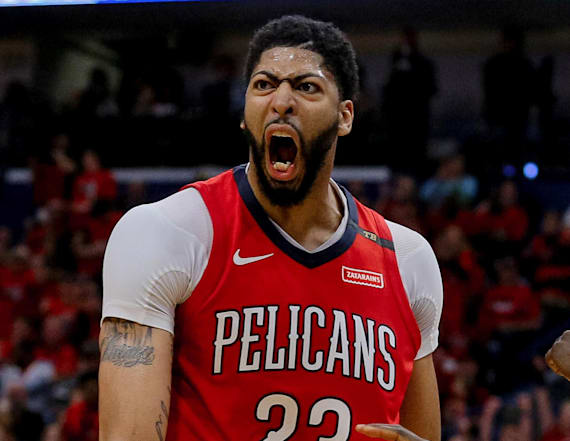 Pelicans complete sweep of Blazers in chippy Game 4