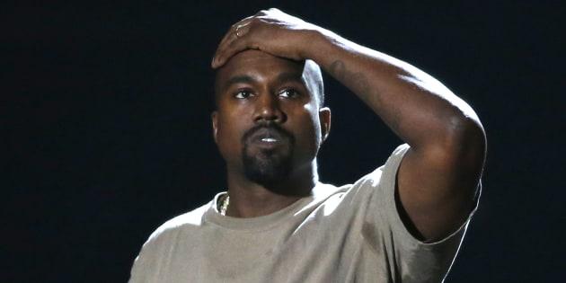 Kanye West aux VMAs le 30 août 2015