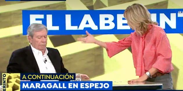 Susanna Griso y José Luis Corcuera en 'Espejo Público'