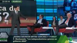 El comentario de Iñaki López sobre Marhuenda que ha provocado una carcajada en 'LaSexta