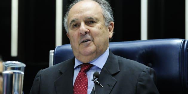 Senador Cristovam Buarque (PPS-DF) quer se candidatar à Presidência da República em 2018.