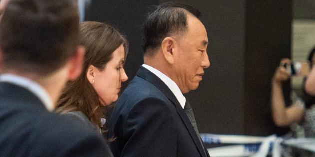 Le numéro 2 du régime nord-coréen est arrivé aux États-Unis pour préparer le sommet de Singapour.