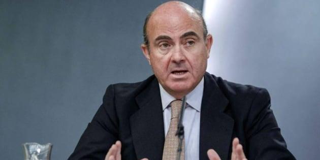 Imagen de archivo del ministro de Economía, Luis de Guindos.